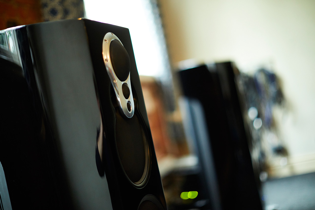 Front Listening room speakers