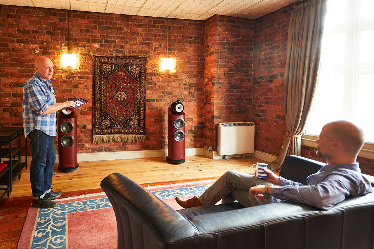 Front Listening room demonstration